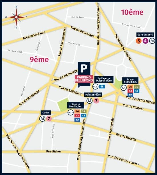 Parking Paris 75009